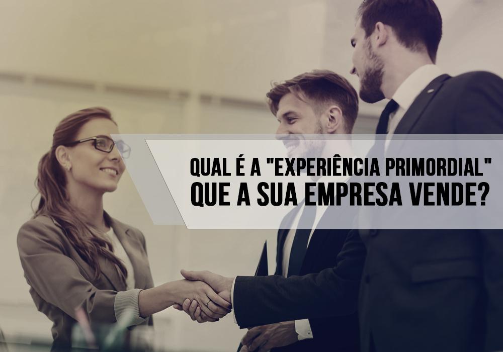 """Qual é A """"experiência Primordial"""" Que A Sua Empresa Vende?"""
